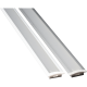 Emco Aluminium LED Profile for LED Strips 1m / 2m Silver / Matt White