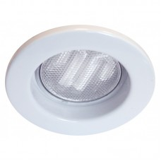 Emco Steel Compact Fluorescent Light Fixed Downlight