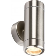 Knightsbridge 230V IP65 Stainless Steel Up and Down Light GU10 Light Fitting