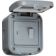 IP66 13A SWITCHED FUSED SPUR UNIT Weatherproof Outdoor