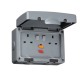 IP66 13A RCD 2G SWITCHED SOCKET Weatherproof Outdoor