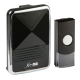 Black Wireless Door Chime (200m range)