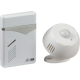 White Wireless PIR Door Chime (100m range)