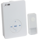 White Wireless MP3 Door Chime (200m range)