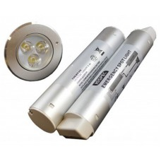 Hispec 3w LED LED Emergency Downlight Non or Maintained Silver or White
