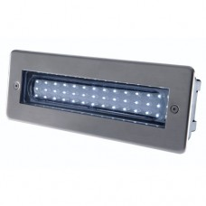 HiSPEC 2W LED Brick Light Stainess Steel Bezel 6000K White Or Blue